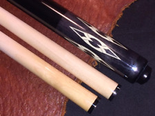 McDermott Pool Cue Wrap-less pool cue with 2 Shafts.