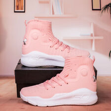 2020 Fashion Pink Under Armour Curry 4 TRAINING Basketball Shoes Size US5-12