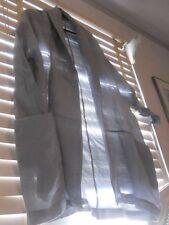 NWT Moyuru Japan ~ Art to Wear ~ Aqua Crinkle Kimono Openfront Jacket  ~ L