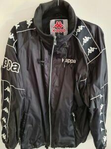 Mens Black Sports Kappa full length jacket alomost new