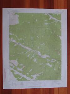 Shawnee Colorado 1957 Original Vintage USGS Topo Map