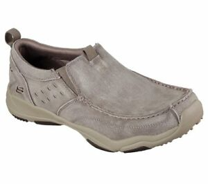 New Mens Skechers Larson Bolten Shoes Style 64970 Taupe 128F dr