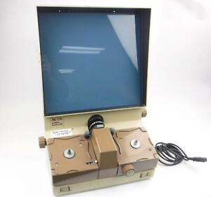 ALOS 22E 16mm Motorized Roll Film Viewer Microfilm Reader - BAD SPEED CONTROLS
