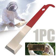 Stainless Steel J Shape Beekeeping Tail Bee Hive Hook Scraper Tools Equipment