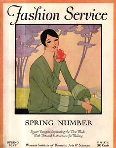1927 Fashion Service - Spring Number - Sports frocks and jumpers, hats, lingerie