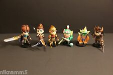 Set of 6 League of Legends LOL Xinzhida Game PVC Figures Doll Individual Pack
