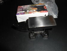 (1) 2 Lbs. Mini Anvil for Setting Rivets etc.  Can Bolt to Work Bench/Surface.