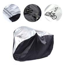 Funda Protector de Polyester Cubierta + Bolsillo 190*72*110cm para Una Bicicleta