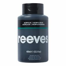 Reeves Acrylic Paint - 400ml Mars Black