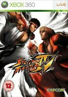 Street Fighter IV / 4 - Xbox 360 Game + Manual - UK PAL
