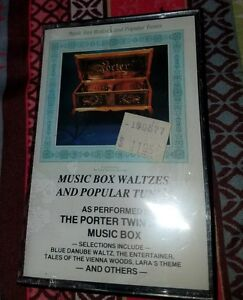 Music Box Waltzes and Popular Tunes: Porter Music (Cassette 1984 Porter) New