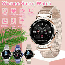 Women Smart Watch Bracelet Heart Rate Fitness Activity Tracker For iOS Android