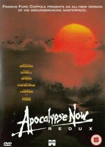Apocalypse Now Redux (DVD) (2002) Marlon Brando - Free postage