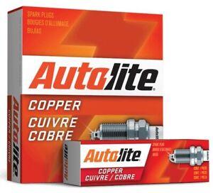 4 X AUTOLITE COPPER CORE SPARK PLUG FOR MAZDA PREMACY CP FP FS-DE 1.8L 2.0L I4