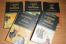 CRONICAS DE BELGARATH COMPLETA, 5 LIBROS PLANETA EN TAPA DURA