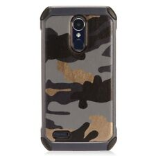 For LG Tribute Dynasty Blue Camo Duo Shock Phone Cases