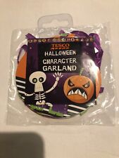 Tesco Halloween Character Party Hanging Garland Pennant Banner Decoration