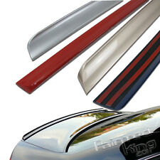 Painted Acura TSX Rear Trunk Lip Spoiler Wing 2004-2008 NH700M Silver