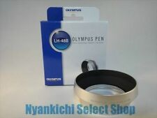 Olympus Official Lens Hood LH-48B Silver for M.ZUIKO DIGITAL ED 17mm F1.8 New