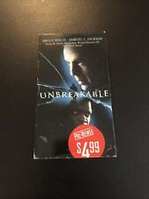 Unbreakable (Vhs, 2001) Bruce Willis