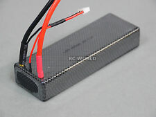 7.4V 4200MAH 30C LIPO HARD CASE Lithium BATTERY PACK W/ DEANS  - Light Weight -