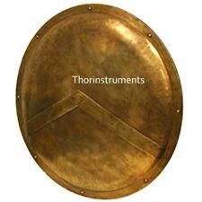 "300 Spartan Shield King Leonidas 36"" - Official Replica - Antique Brass"