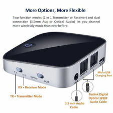 Bluetooth Wireless Transmitter and Receiver 3.5mm AUX Audio Adapter  TV Car