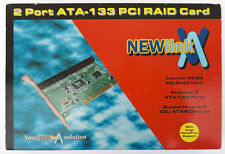 More details for newlink 2 port ata-133 pci raid card