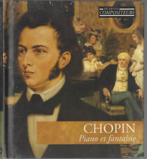LIVRE CD CLASSIQUE CHOPIN PIANO ET FANTAISIE  3163