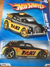 Hot Wheels Cockney Cab II Black City Works Diecast 1:64 Toy Car Collectible