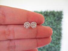 """.46 CTW Diamond Earrings 18k White Gold E183 sep """"SP"""""""