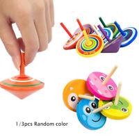 - peg top wer klassische zappeln kreisel - spielzeug aus holz stress - nothilfe