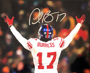 Plaxico Burress Autographed Signed 8x10 Photo ( Giants ) REPRINT