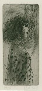 """Reblin, Maren (1943 Swinemünde, lebt in Panketal) """"Geheimnisvolle Schönheit"""""""