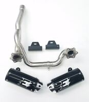 Empire Industries Dual Black Slip On Exhaust Can-Am Outlander 650 800 1000