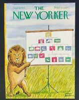 COVER ONLY ~ The New Yorker Magazine, September 9, 1972 ~ Charles Addams