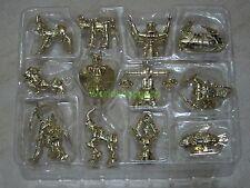 Saint Seiya Appendix Mini Gold Cloths Objects Set 12 Figure