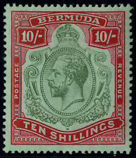 Bermuda  1910-24  Scott # 53a  Mint Very Lightly Hinged