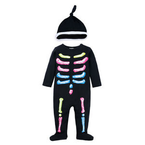 Toddler Halloween Fancy Dress Costume Outfit Jumpsuit Baby Grow 6 9 12 18 months