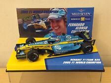1/43 MINICHAMPS RENAULT F1 TEAM R25 F ALONSO WORLD CHAMPION 2005 Full Tobacco