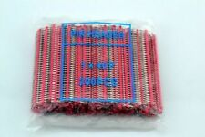 10pc RED 40pin 2.54mm Single Row Breakaway Male Pin Header for Arduino uno R3