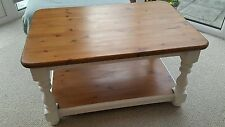 Unbranded Pine Farmhouse Rectangle Coffee Tables