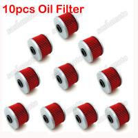 10x Oil Filters For Honda TRX200D TRX300FW TRX350 TRX420 TRX450 TRX500 FOURTRAX