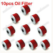 10x Oil Filters For Honda TRX200D TRX300FW TRX350 TRX420 TRX450 TRX500 FOURTRAX