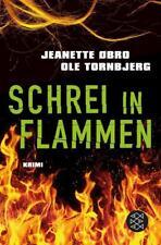 Schrei in den Flammen Jeanette Obro  Thriller  Taschenbuch   ++Ungelesen++