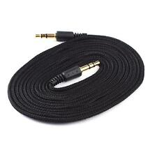2M 3.5mm Male to Male Audio Stereo Mp3 Headphone Extension Cloth Cable Dqus