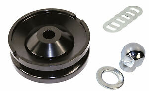BILLET ALUM ALT/GEN PULLEY COMPLETE KIT VW RAIL DUNE BUGGY BUG THING GHIA BEETLE