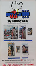 Woodstock 1989 20th Anniversary Original Promo Poster
