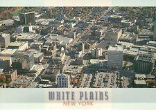 White Plains, New York, Mamaroneck Avenue, Galleria Mall, Aerial View - Postcard