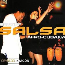 Osvaldo Chacon-Best Of Salsa Afro-Cubana (Cub CD NEW